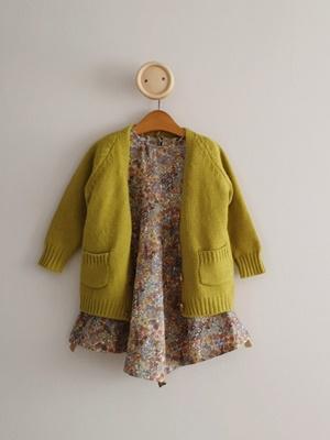 ECLAIR - BRAND - Korean Children Fashion - #Kfashion4kids - Pocket Long Cardigan
