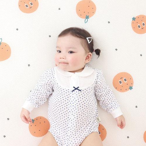 MEREBE - BRAND - Korean Children Fashion - #Kfashion4kids - Orange Air Mesh Mat with Bag