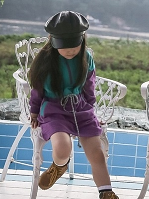 NESTAR - BRAND - Korean Children Fashion - #Kfashion4kids - Colored String One-piece