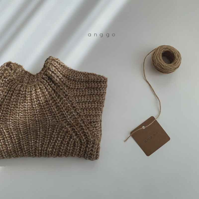 ANGGO - Korean Children Fashion - #Kfashion4kids - Baguette Knit Top - 4