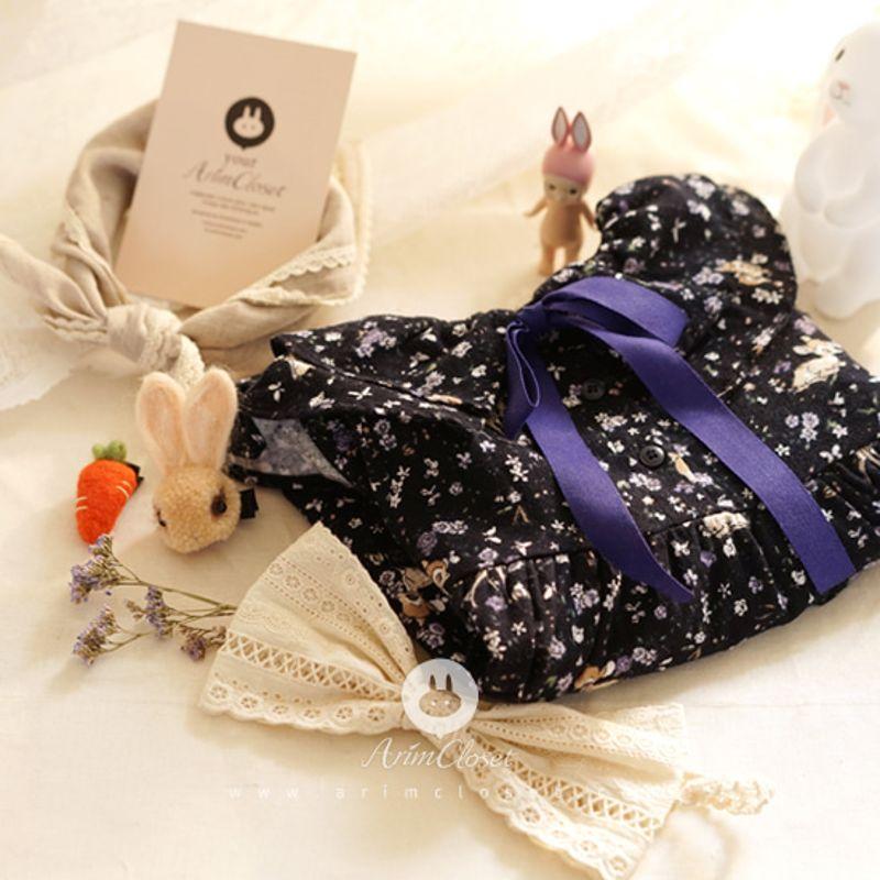 ARIM CLOSET - BRAND - Korean Children Fashion - #Kfashion4kids - Lovely Flower Bambi Dress