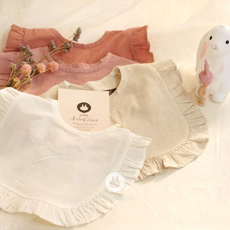 ARIM CLOSET - BRAND - Korean Children Fashion - #Kfashion4kids - Frill Baby Bib