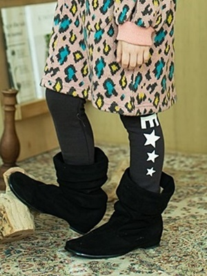 E.RU - BRAND - Korean Children Fashion - #Kfashion4kids - Star Leggings
