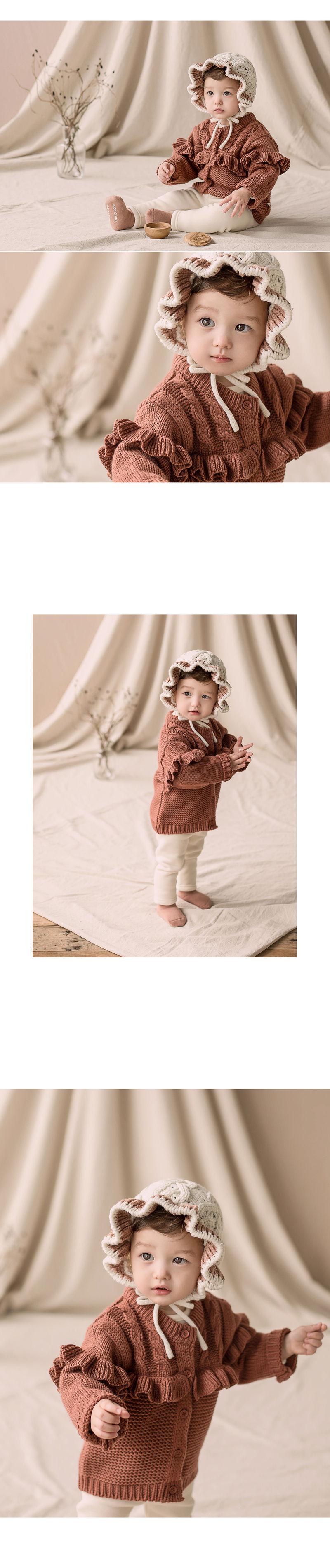 HAPPY PRINCE - Korean Children Fashion - #Kfashion4kids - Lyon Knit Cardigan - 2