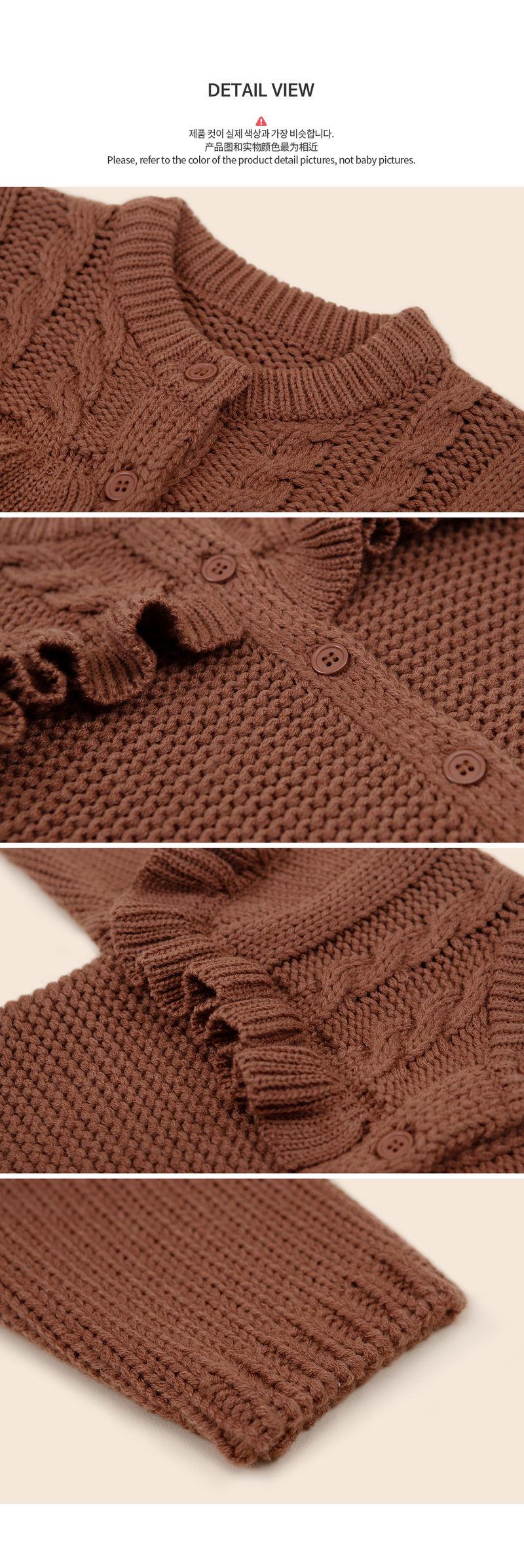 HAPPY PRINCE - Korean Children Fashion - #Kfashion4kids - Lyon Knit Cardigan - 5