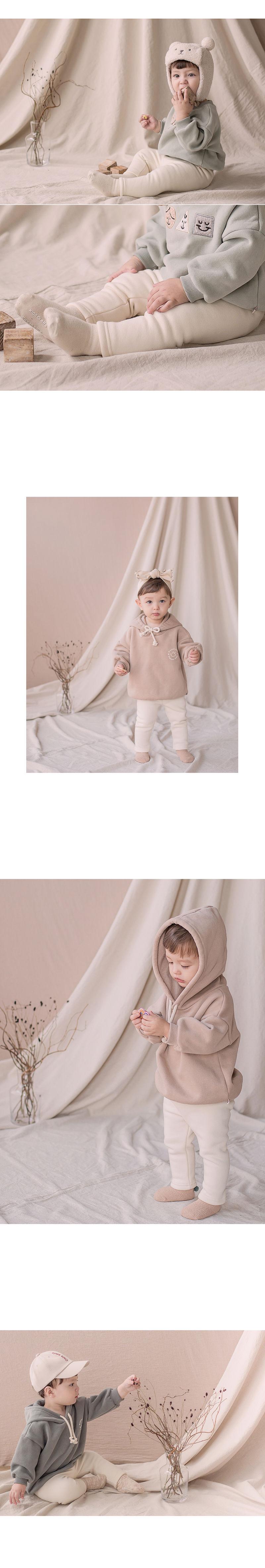 HAPPY PRINCE - Korean Children Fashion - #Kfashion4kids - New Hafo Fleece Lined Leggings - 2