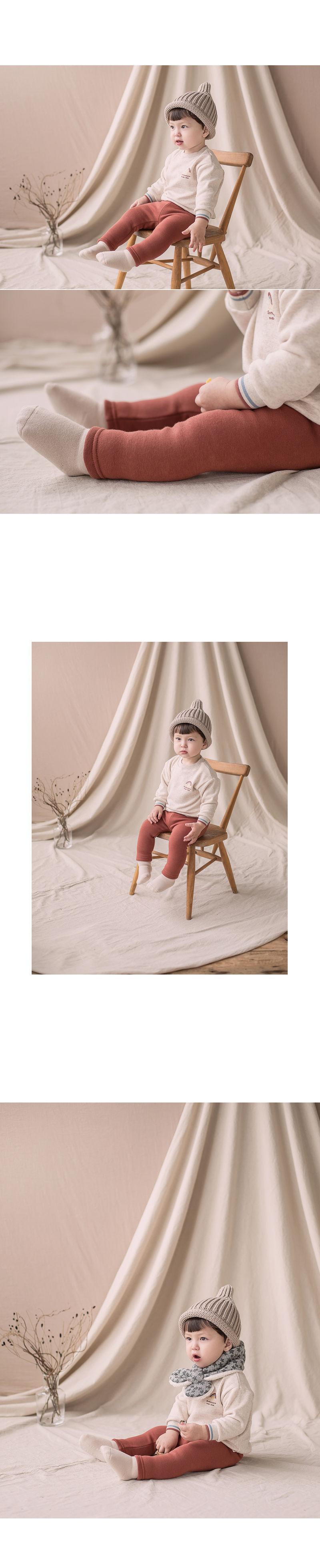 HAPPY PRINCE - Korean Children Fashion - #Kfashion4kids - New Hafo Fleece Lined Leggings - 3