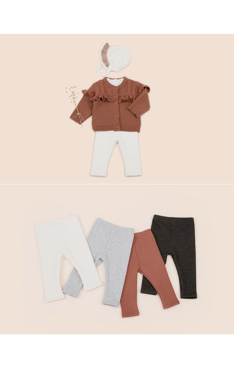 HAPPY PRINCE - Korean Children Fashion - #Kfashion4kids - New Hafo Fleece Lined Leggings - 4