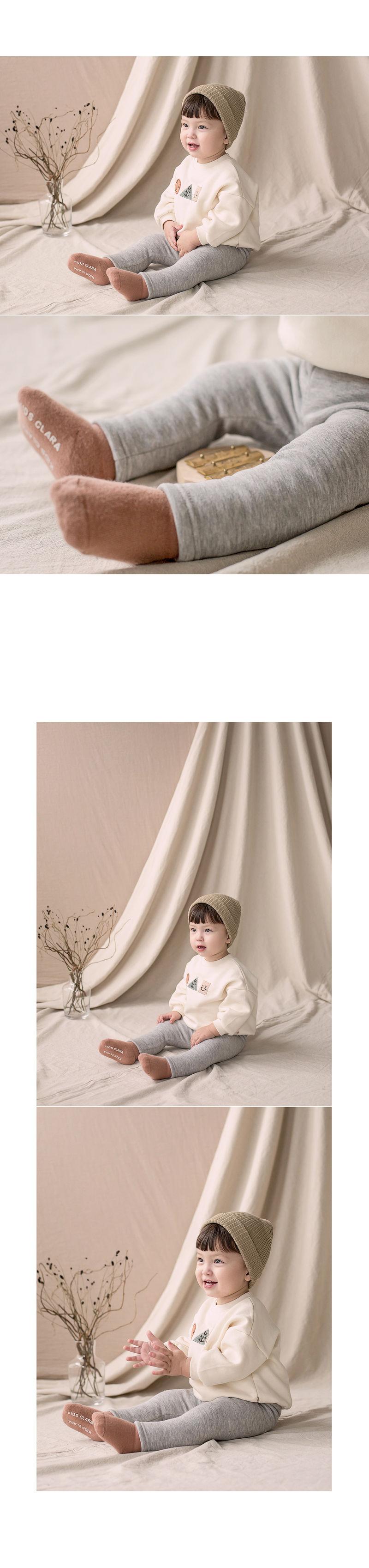 HAPPY PRINCE - Korean Children Fashion - #Kfashion4kids - New Hafo Fleece Lined Leggings - 5
