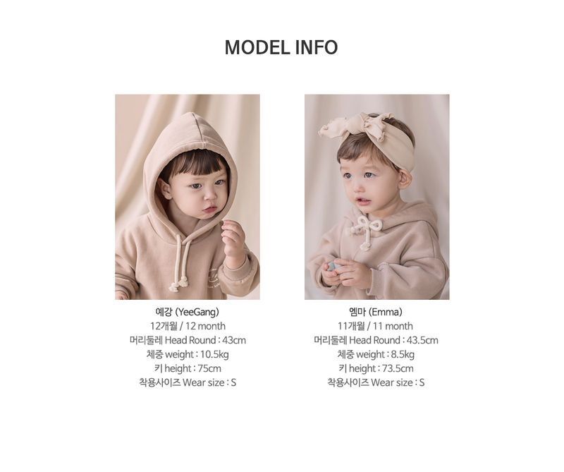HAPPY PRINCE - Korean Children Fashion - #Kfashion4kids - Kai Hood Fleece Lined Sweatshirt - 11