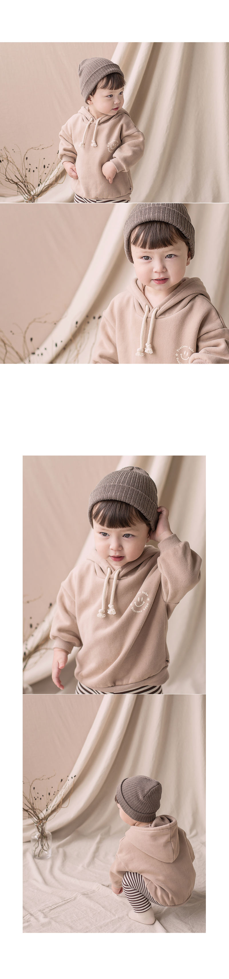 HAPPY PRINCE - Korean Children Fashion - #Kfashion4kids - Kai Hood Fleece Lined Sweatshirt - 3