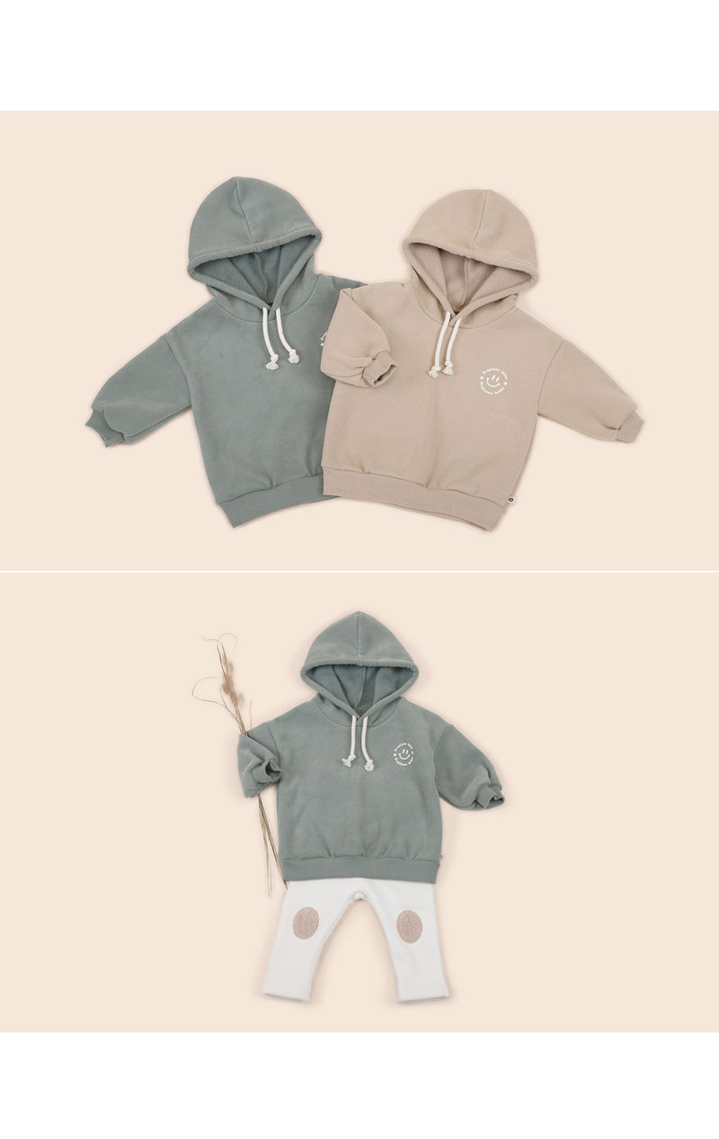 HAPPY PRINCE - Korean Children Fashion - #Kfashion4kids - Kai Hood Fleece Lined Sweatshirt - 5