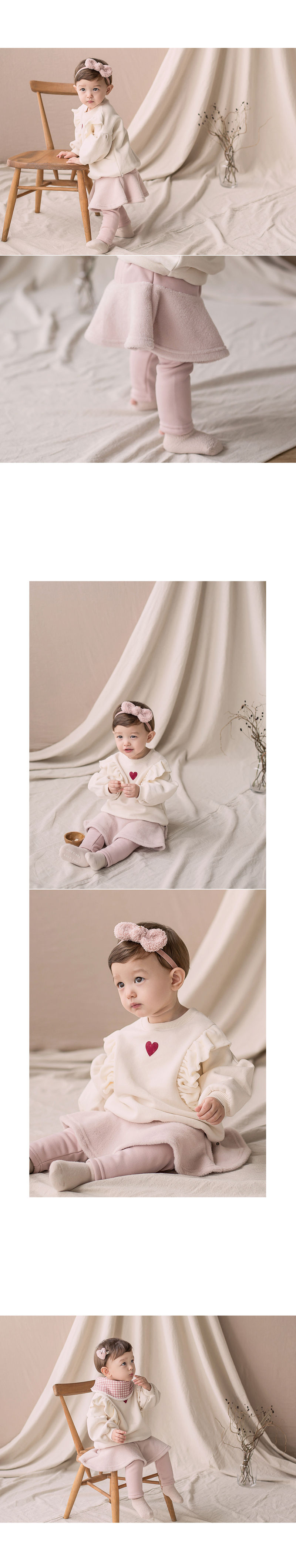 HAPPY PRINCE - Korean Children Fashion - #Kfashion4kids - Czech Fleece Lined Skirt Leggings - 4