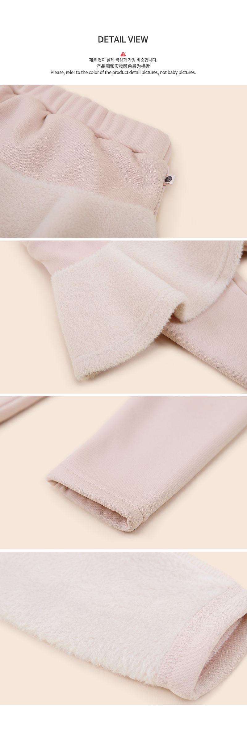 HAPPY PRINCE - Korean Children Fashion - #Kfashion4kids - Czech Fleece Lined Skirt Leggings - 5