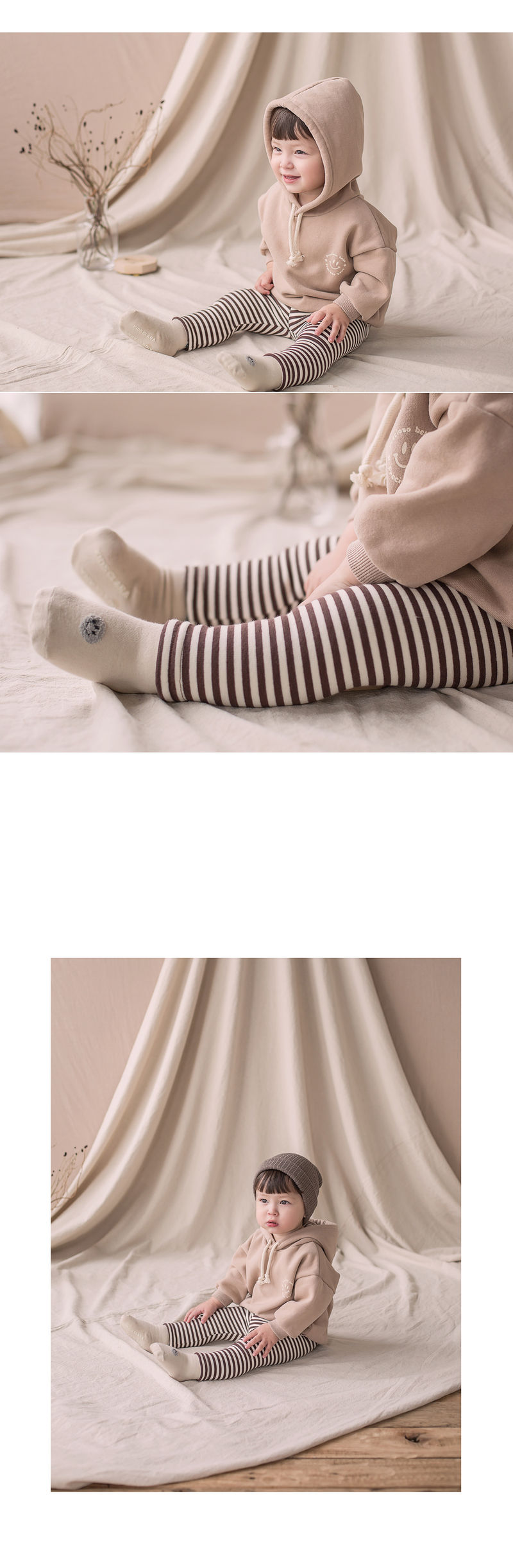 HAPPY PRINCE - Korean Children Fashion - #Kfashion4kids - Bay Fleece Lined Leggings - 2