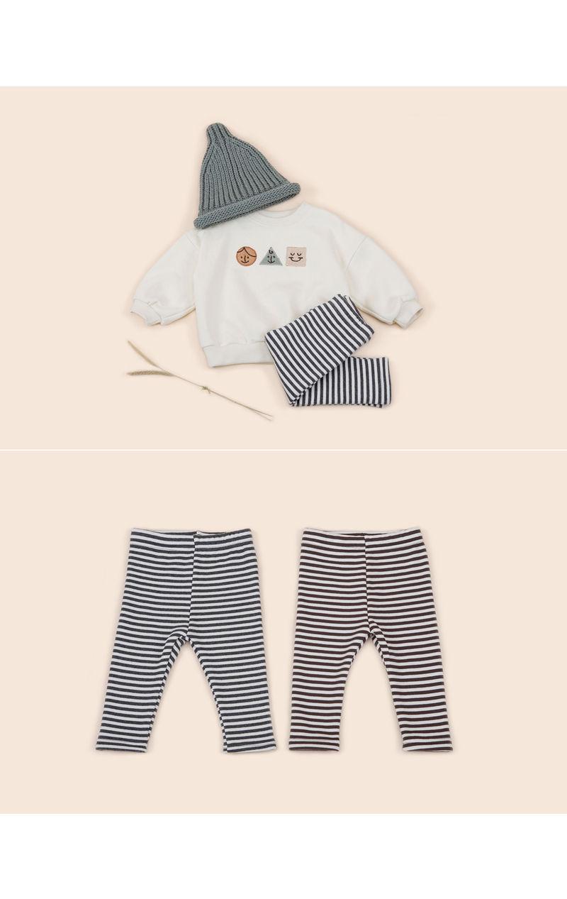 HAPPY PRINCE - Korean Children Fashion - #Kfashion4kids - Bay Fleece Lined Leggings - 3
