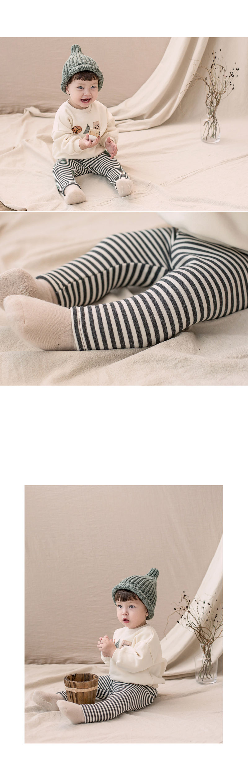 HAPPY PRINCE - Korean Children Fashion - #Kfashion4kids - Bay Fleece Lined Leggings - 4