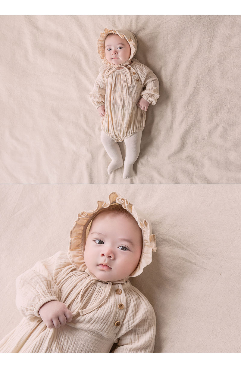 HAPPY PRINCE - Korean Children Fashion - #Kfashion4kids - Lulu Organic Bonnet - 2