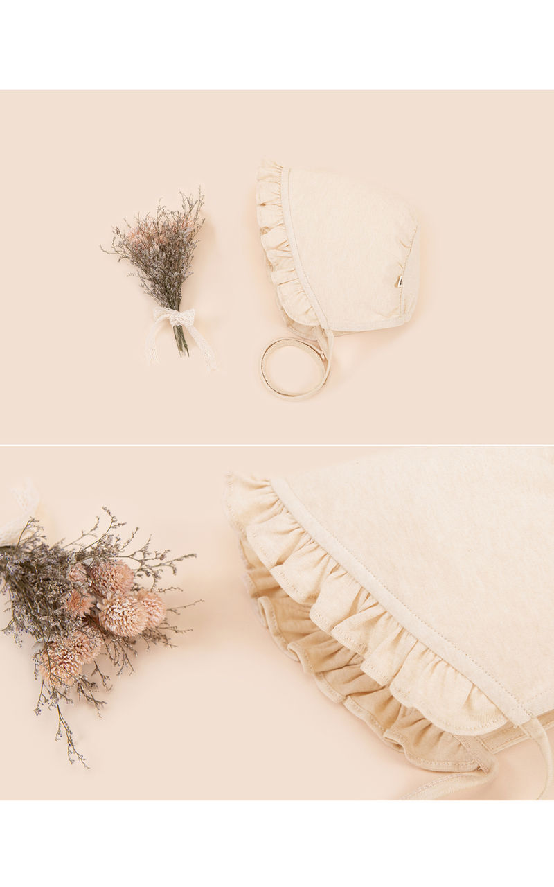 HAPPY PRINCE - Korean Children Fashion - #Kfashion4kids - Lulu Organic Bonnet - 3
