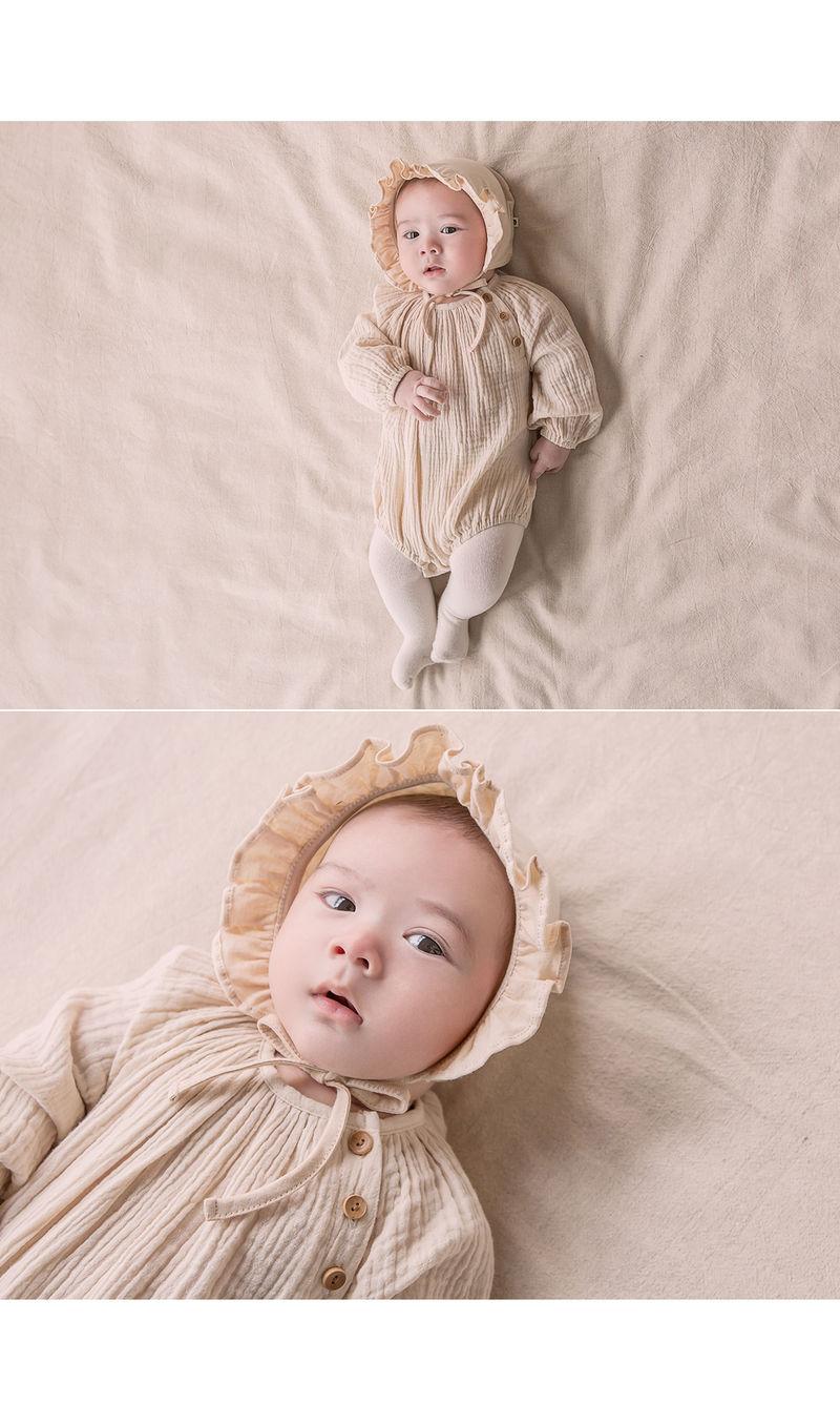HAPPY PRINCE - Korean Children Fashion - #Kfashion4kids - Lulu Organic Bonnet - 4