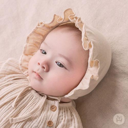 HAPPY PRINCE - BRAND - Korean Children Fashion - #Kfashion4kids - Lulu Organic Bonnet