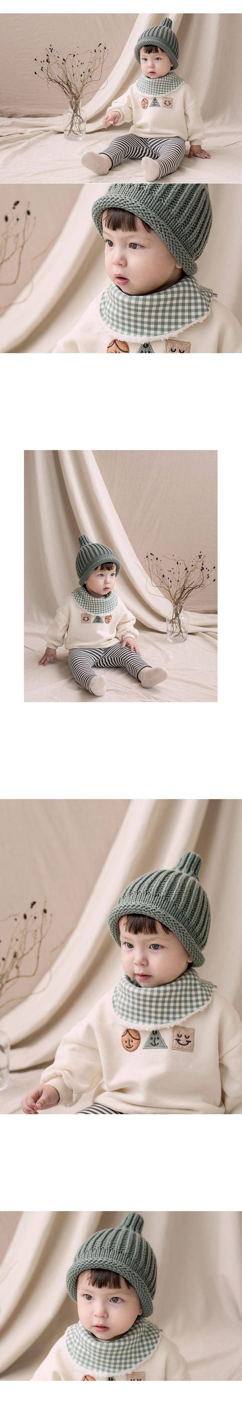 HAPPY PRINCE - Korean Children Fashion - #Kfashion4kids - Ella Snow Banana Bib - 2