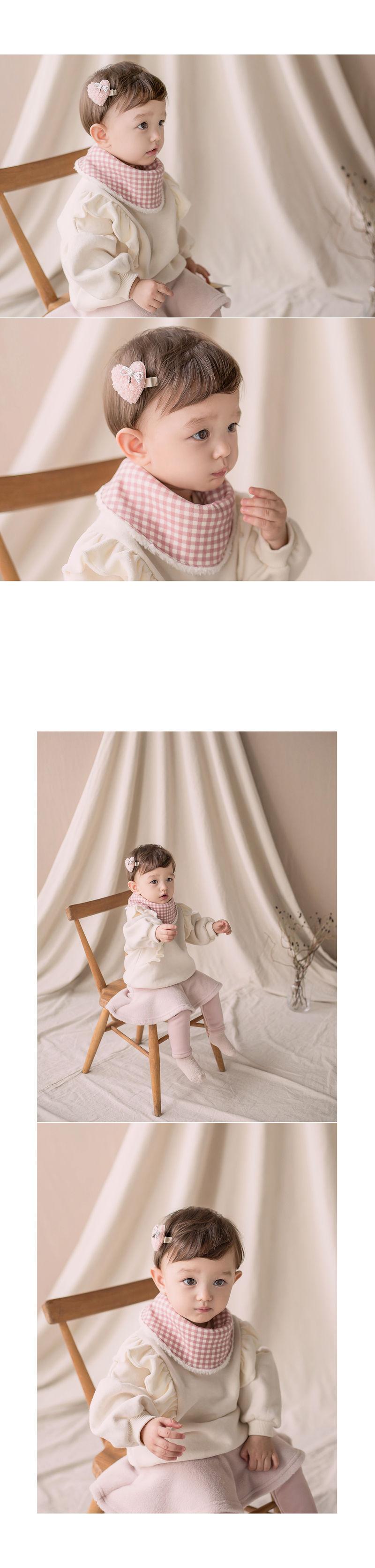 HAPPY PRINCE - Korean Children Fashion - #Kfashion4kids - Ella Snow Banana Bib - 4