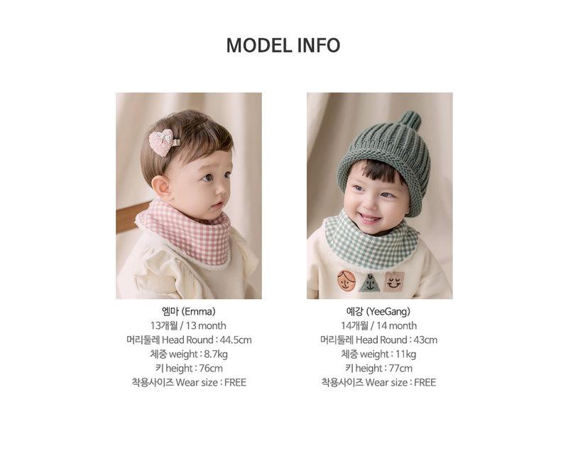 HAPPY PRINCE - Korean Children Fashion - #Kfashion4kids - Ella Snow Banana Bib - 8