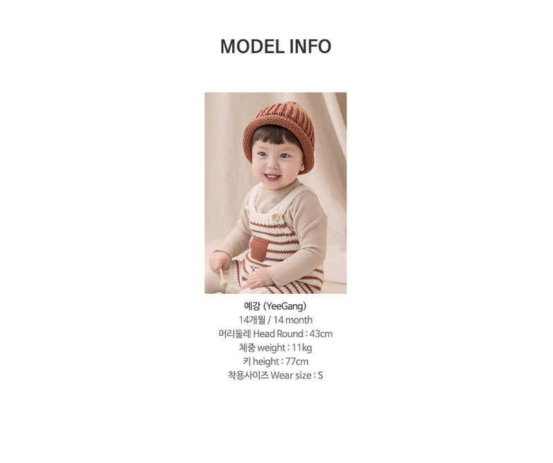 HAPPY PRINCE - Korean Children Fashion - #Kfashion4kids - Anna Knit Overall - 10