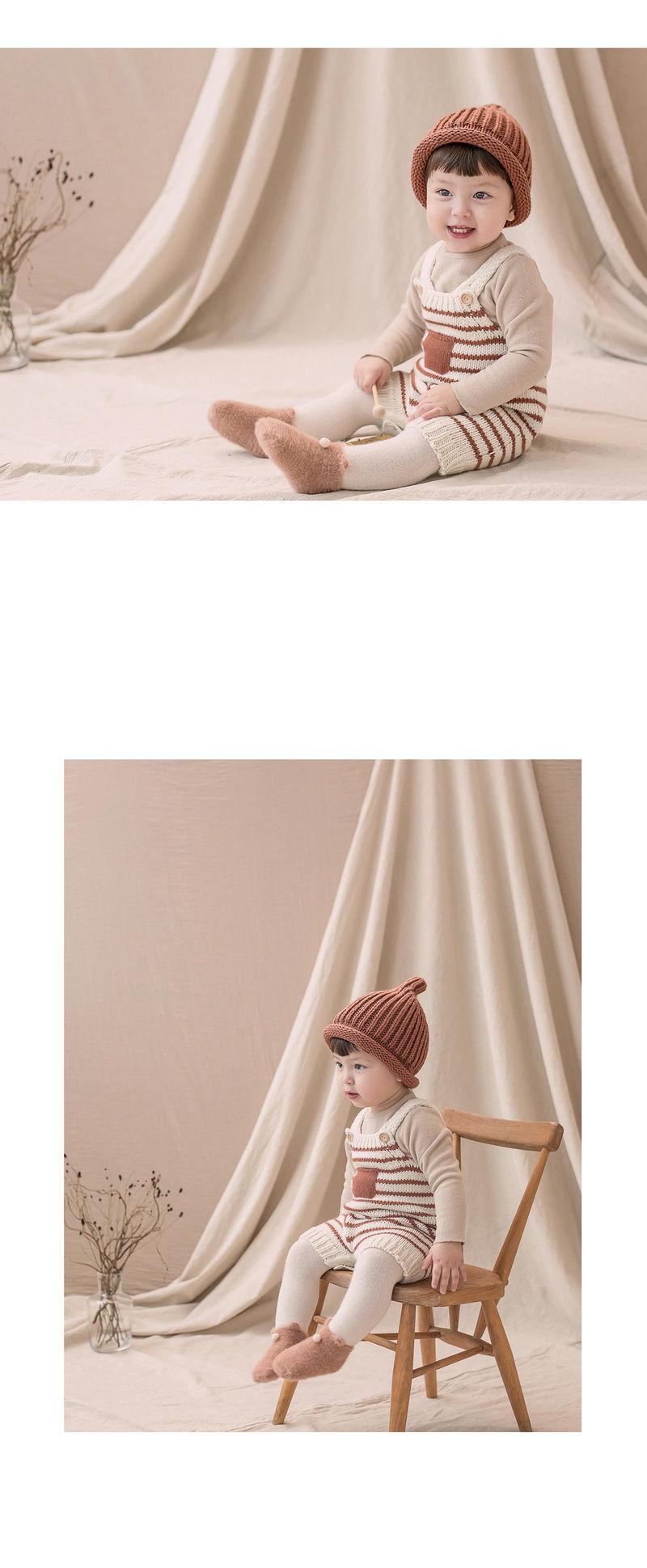 HAPPY PRINCE - Korean Children Fashion - #Kfashion4kids - Anna Knit Overall - 2