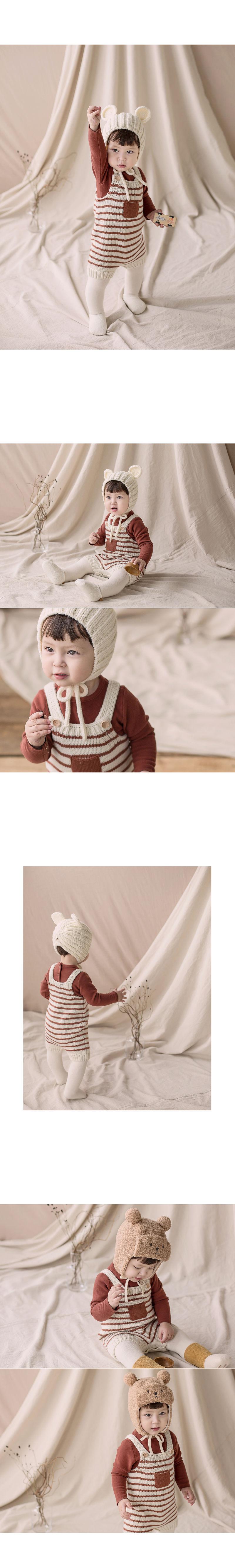 HAPPY PRINCE - Korean Children Fashion - #Kfashion4kids - Anna Knit Overall - 3