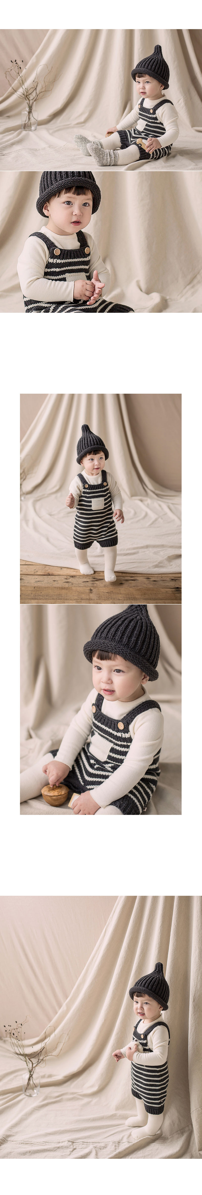 HAPPY PRINCE - Korean Children Fashion - #Kfashion4kids - Anna Knit Overall - 5