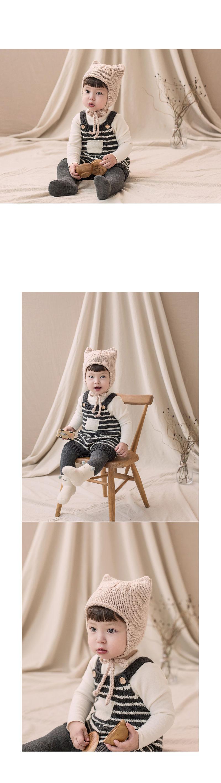 HAPPY PRINCE - Korean Children Fashion - #Kfashion4kids - Anna Knit Overall - 6