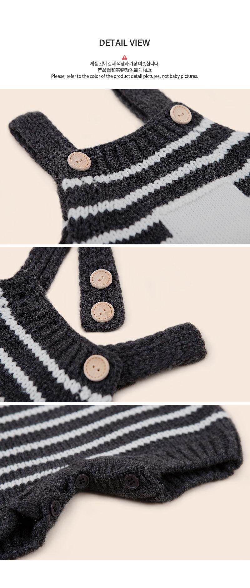 HAPPY PRINCE - Korean Children Fashion - #Kfashion4kids - Anna Knit Overall - 7