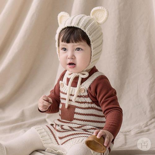 HAPPY PRINCE - BRAND - Korean Children Fashion - #Kfashion4kids - Anna Knit Overall