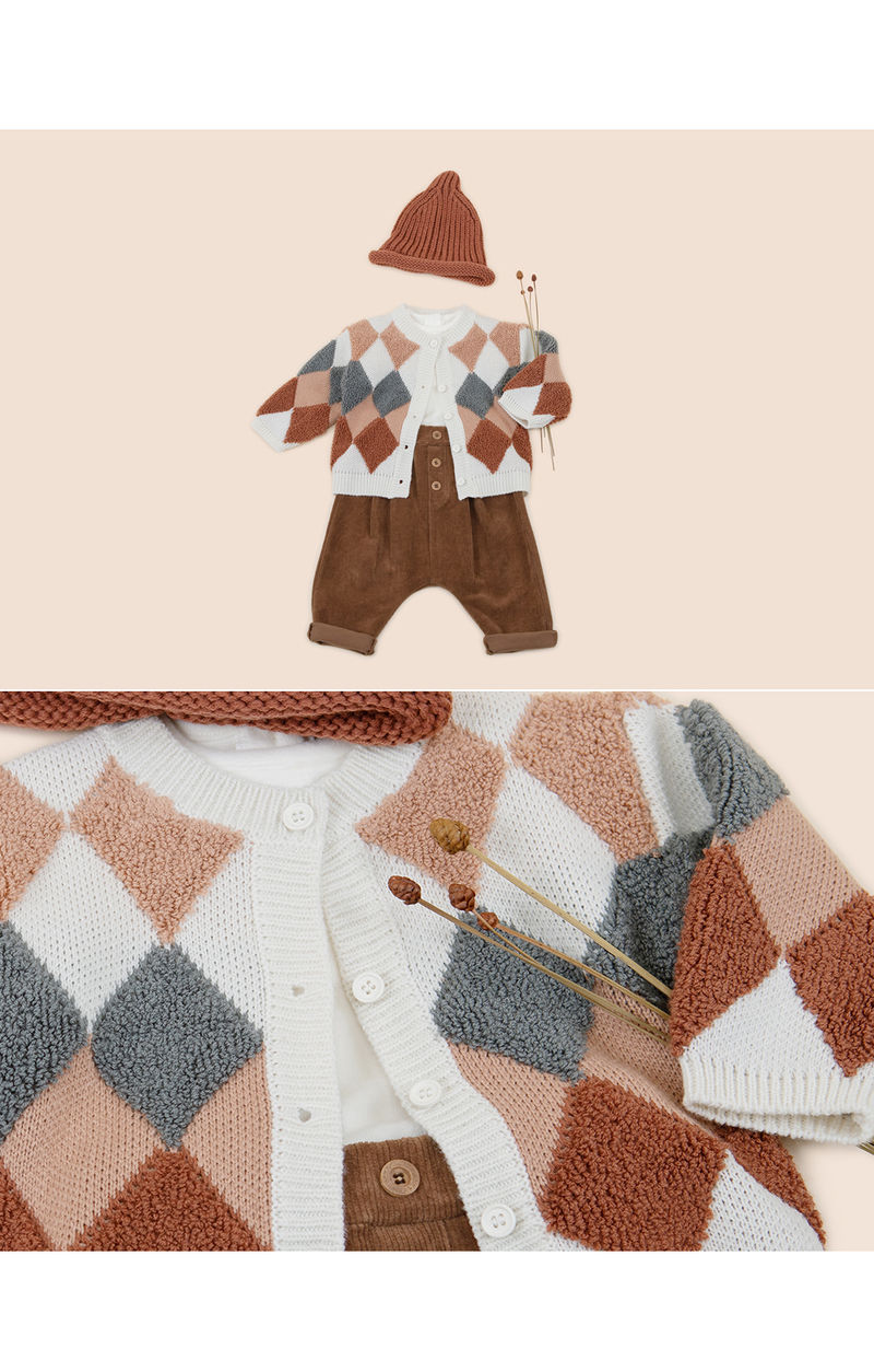 HAPPY PRINCE - Korean Children Fashion - #Kfashion4kids - Roy Knit Cardigan - 3
