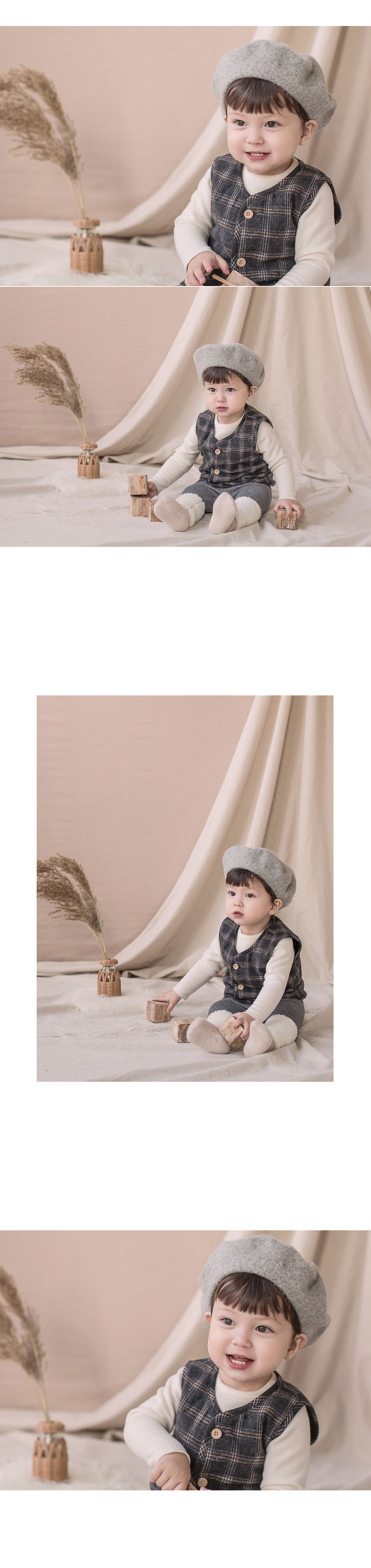 HAPPY PRINCE - Korean Children Fashion - #Kfashion4kids - Aaron Quilt Vest - 2