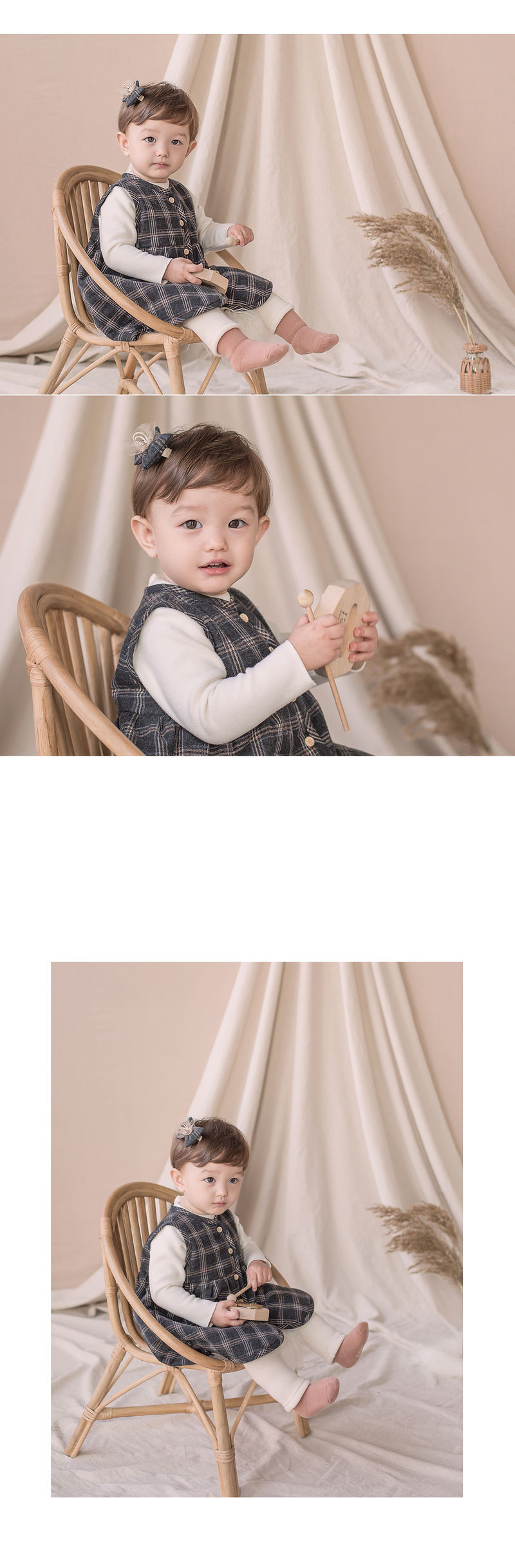 HAPPY PRINCE - Korean Children Fashion - #Kfashion4kids - Ivy Hairpin [set of 5] - 2