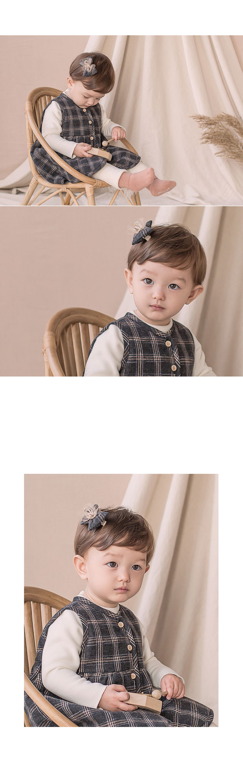 HAPPY PRINCE - Korean Children Fashion - #Kfashion4kids - Ivy Hairpin [set of 5] - 4