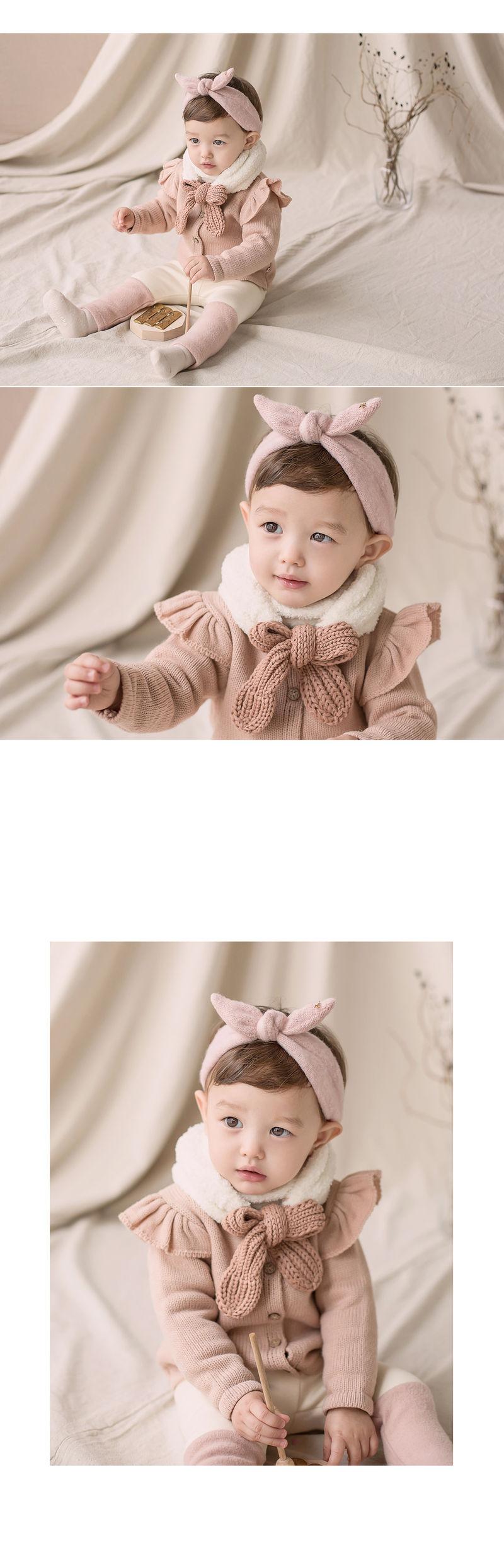 HAPPY PRINCE - Korean Children Fashion - #Kfashion4kids - Jessy Knit Muffler - 2