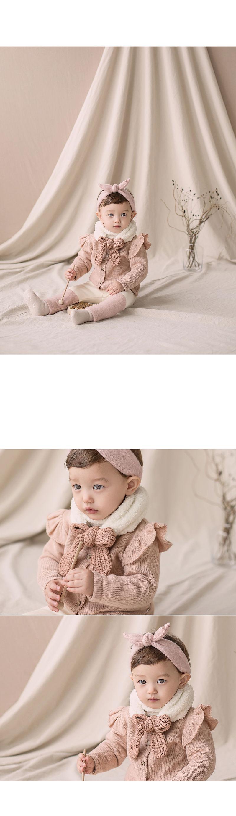 HAPPY PRINCE - Korean Children Fashion - #Kfashion4kids - Jessy Knit Muffler - 3