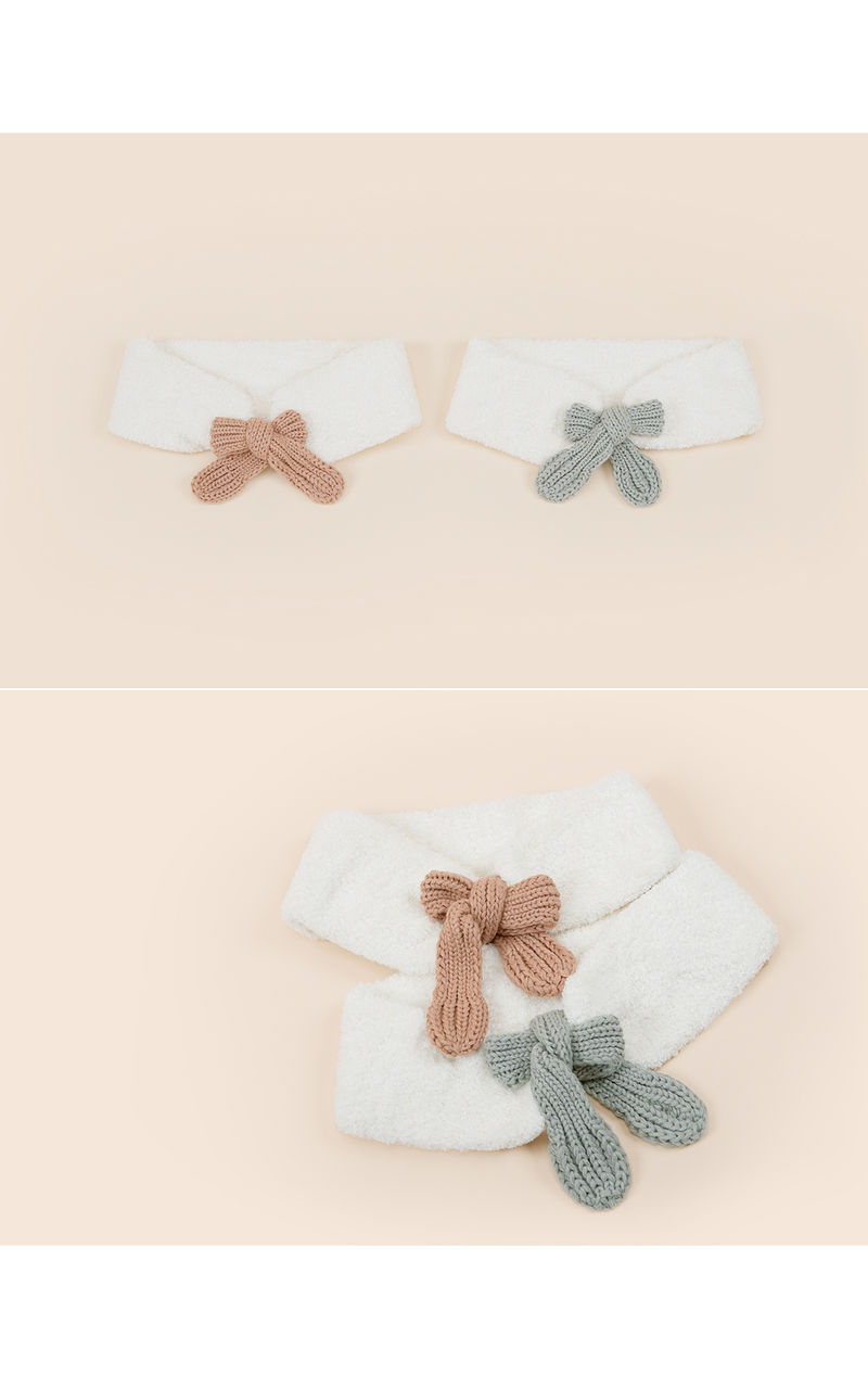 HAPPY PRINCE - Korean Children Fashion - #Kfashion4kids - Jessy Knit Muffler - 4