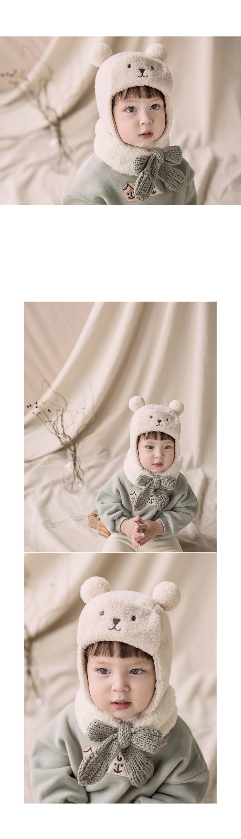 HAPPY PRINCE - Korean Children Fashion - #Kfashion4kids - Jessy Knit Muffler - 5