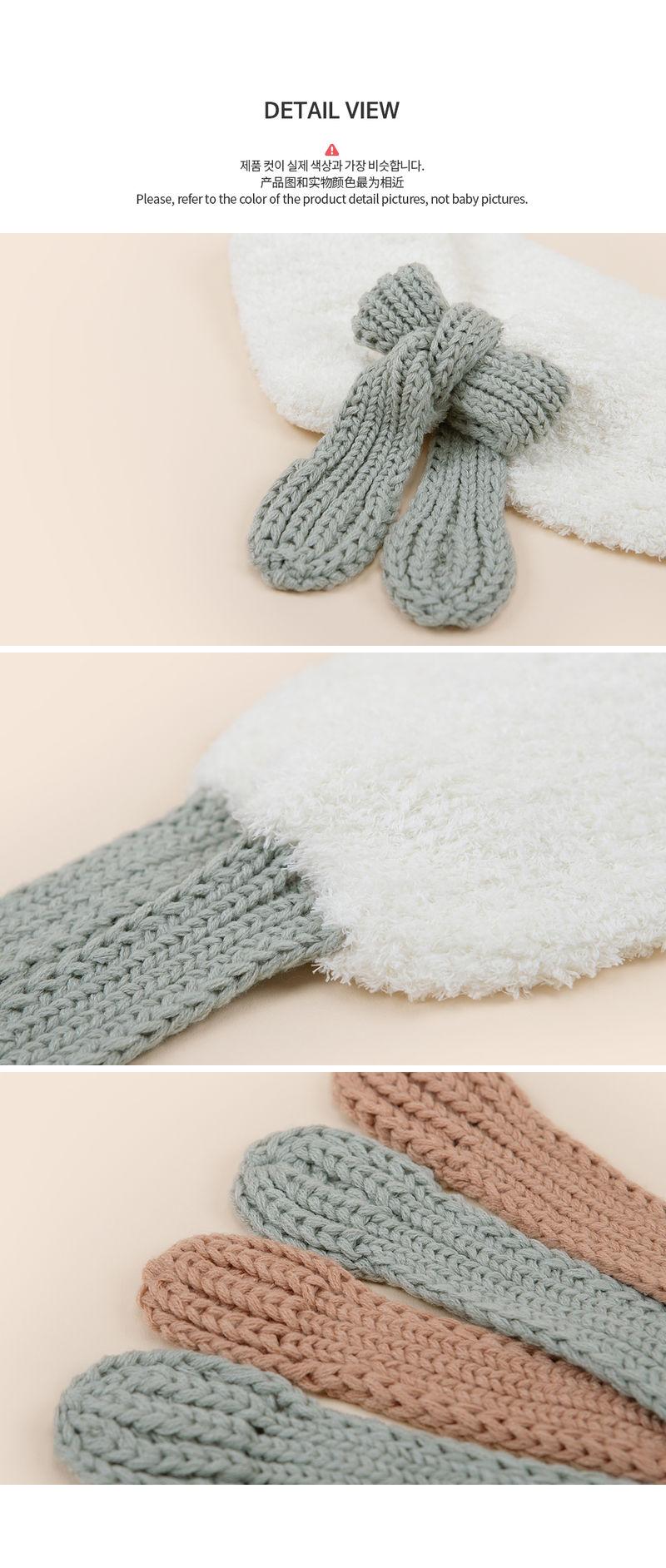 HAPPY PRINCE - Korean Children Fashion - #Kfashion4kids - Jessy Knit Muffler - 6