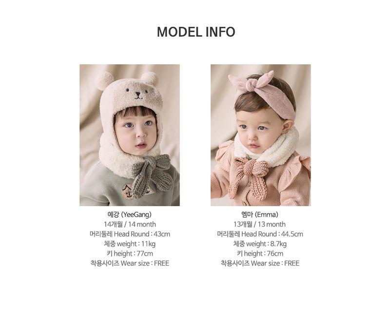 HAPPY PRINCE - Korean Children Fashion - #Kfashion4kids - Jessy Knit Muffler - 9