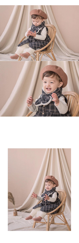 HAPPY PRINCE - Korean Children Fashion - #Kfashion4kids - Aaron Snow Neckie Muffler - 2