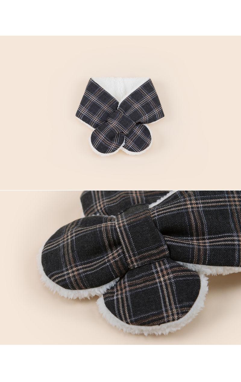 HAPPY PRINCE - Korean Children Fashion - #Kfashion4kids - Aaron Snow Neckie Muffler - 3
