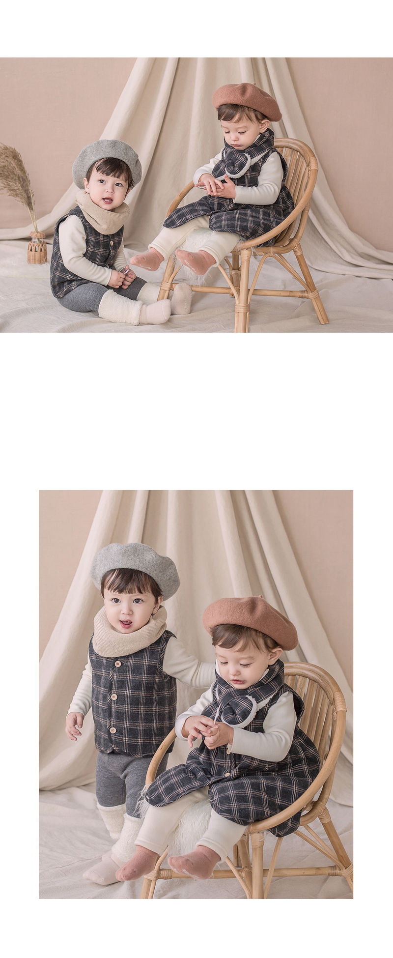 HAPPY PRINCE - Korean Children Fashion - #Kfashion4kids - Aaron Snow Neckie Muffler - 4