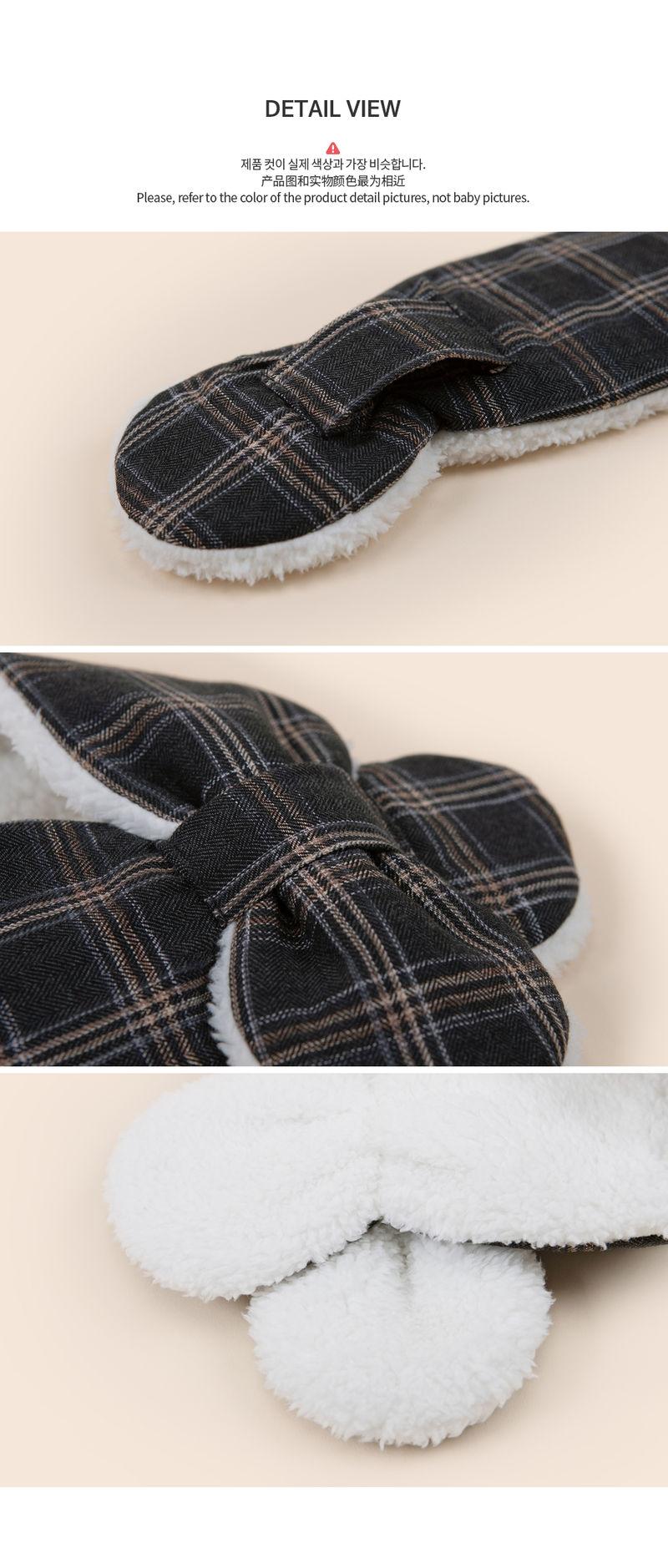 HAPPY PRINCE - Korean Children Fashion - #Kfashion4kids - Aaron Snow Neckie Muffler - 5