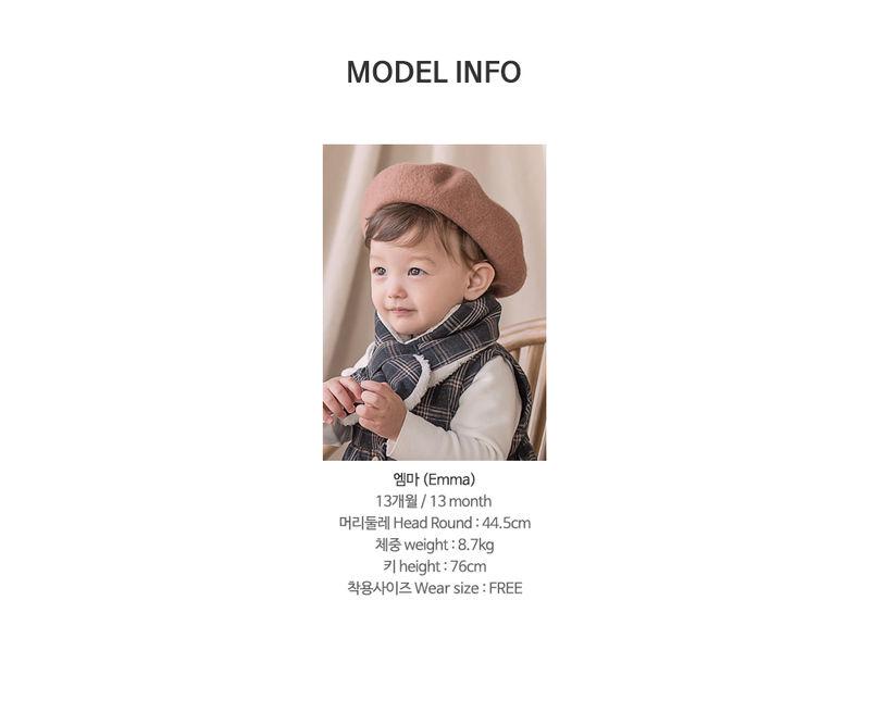 HAPPY PRINCE - Korean Children Fashion - #Kfashion4kids - Aaron Snow Neckie Muffler - 8